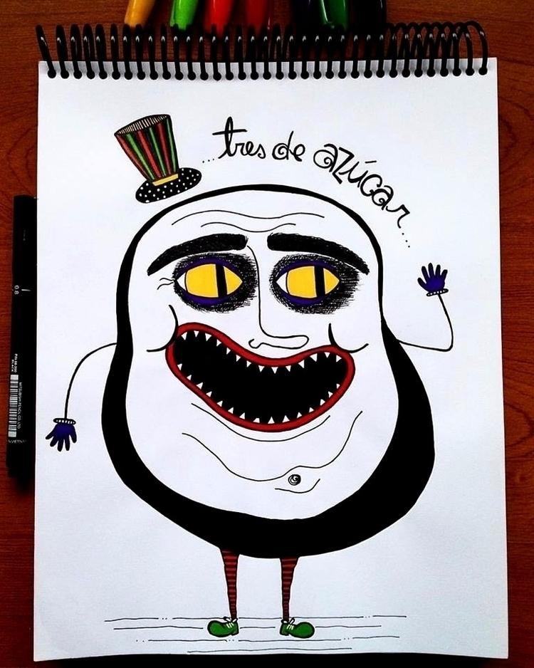 Hola - artwork, creepy, illustration - antonellietta | ello