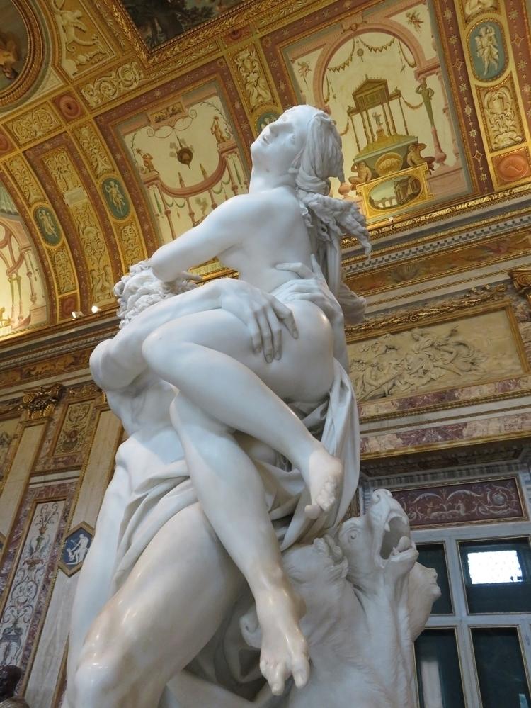 Bernini, GalleriaBorghese, Rome - sanftekuss | ello