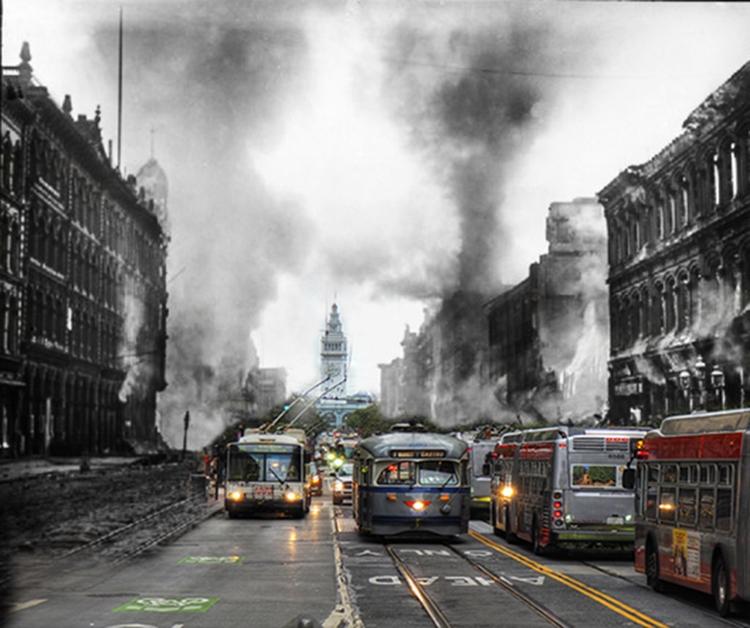 San Francisco 1908 /2017 - phot - neilhoward | ello