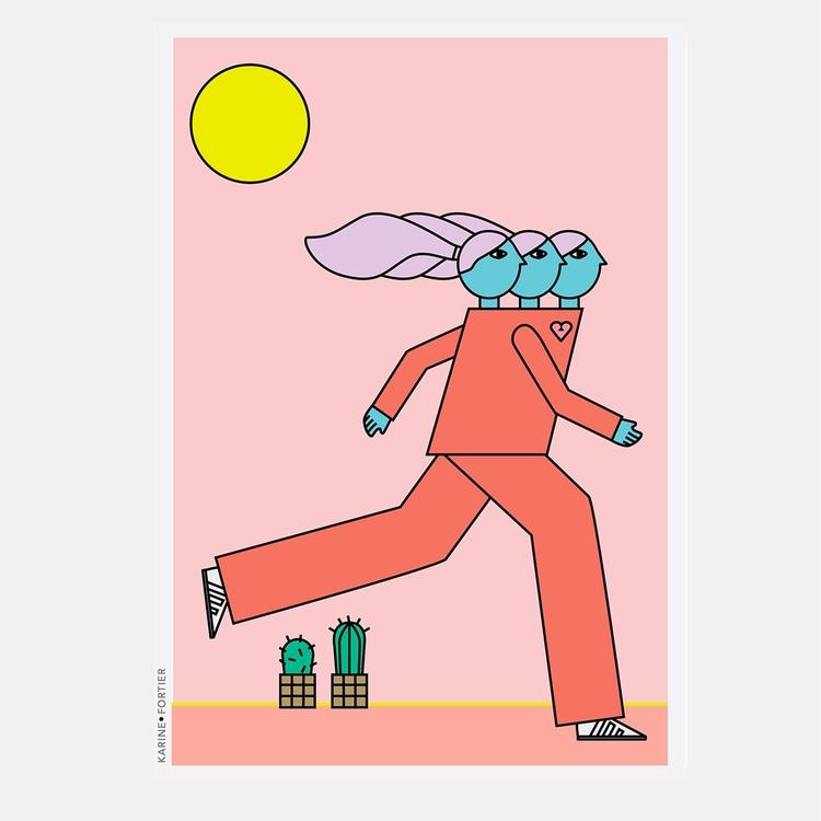 'Free :rainbow:- _ Giclée Print - helloppomme | ello