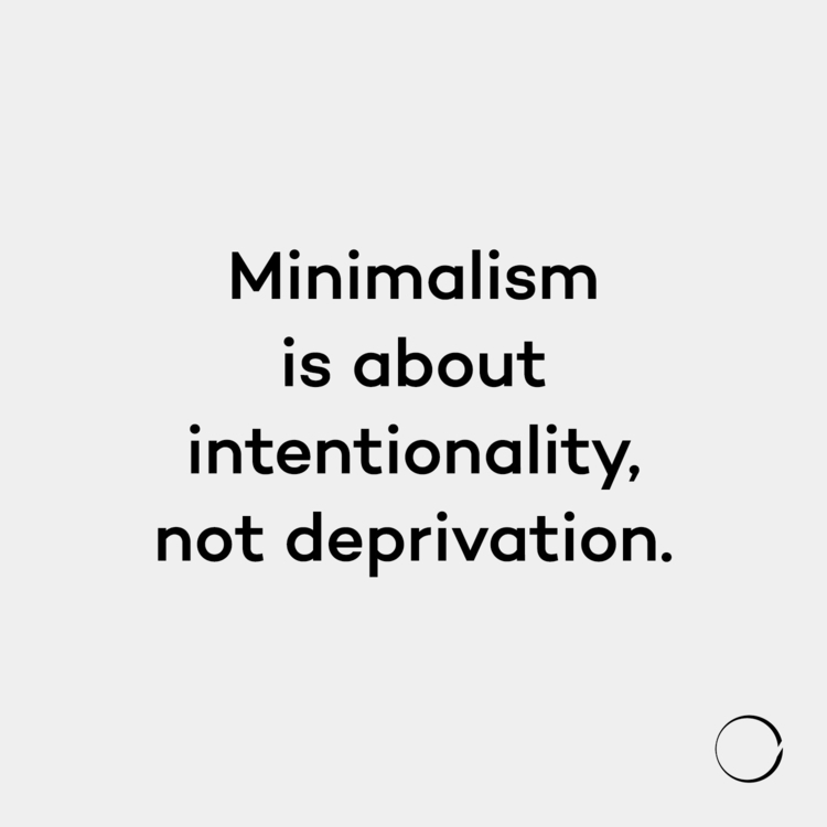 Live amount minimalism.life - minimalismlife | ello