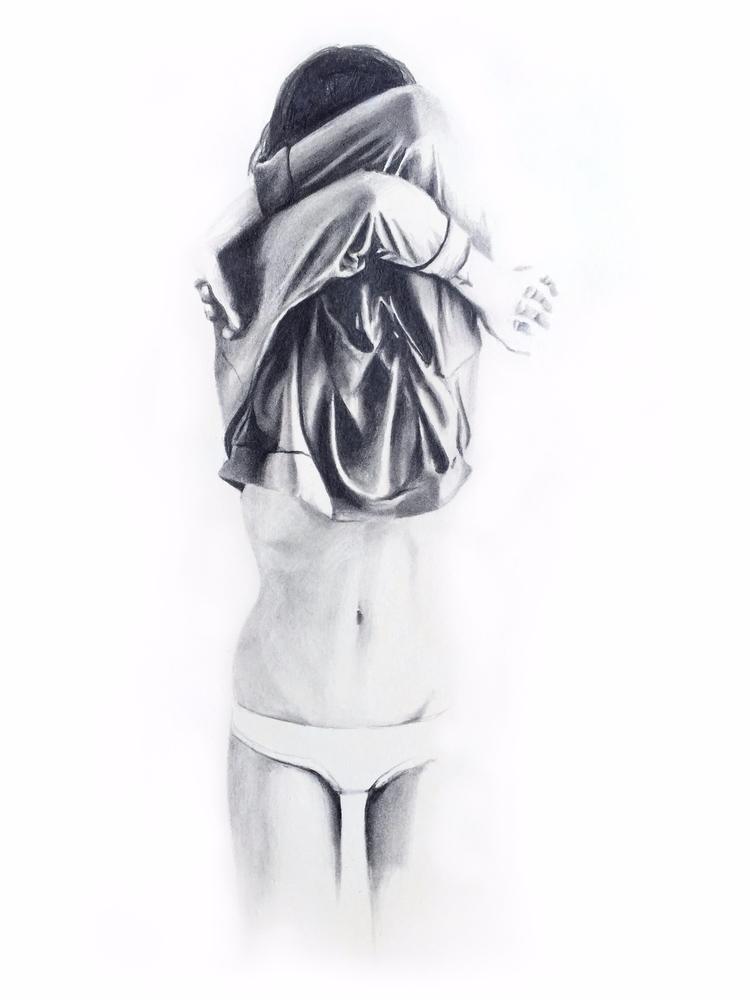 1. Absence, Graphite Illustrati - britt_loar | ello