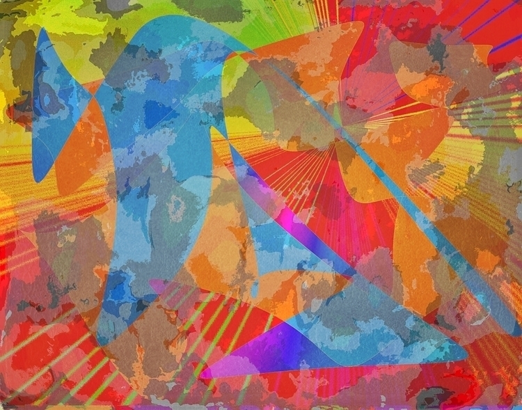 Focus Series digital painting e - jmbowers | ello