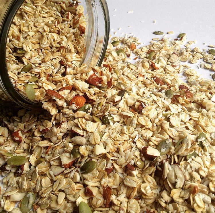 Homemade, sweet crunchy granola - inspiredcuisine   ello