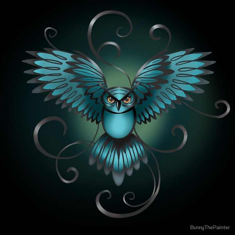 Great Night Owl Kilmartin piece - littlebunnysunshine | ello
