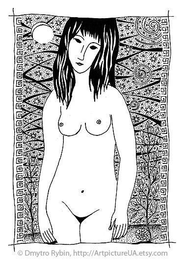 Motives Modigliani - woman, nude - dmytroua | ello