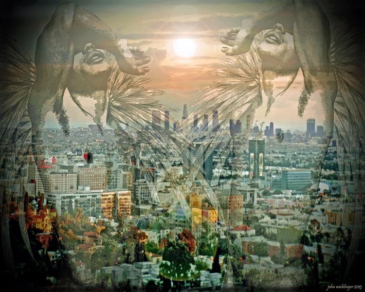 Artwork: City Angels - john_waiblinger | ello