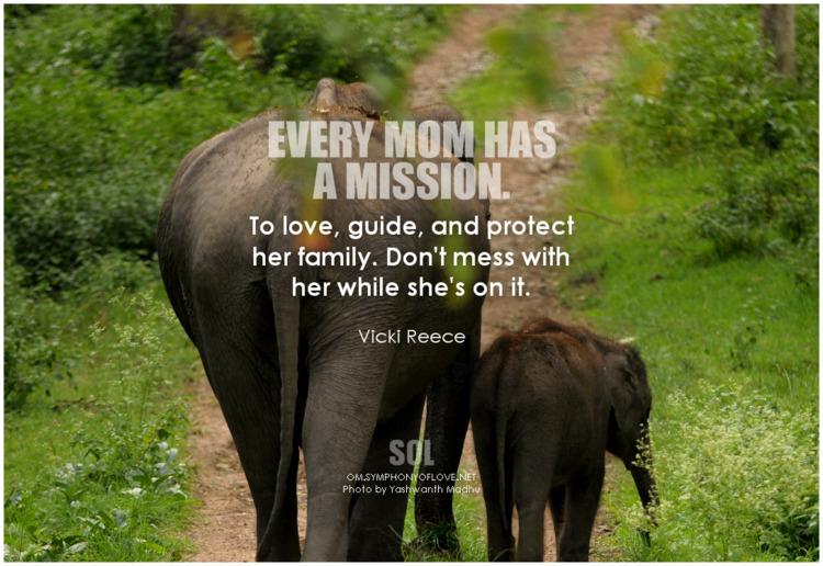 mom mission. love, guide, prote - symphonyoflove   ello
