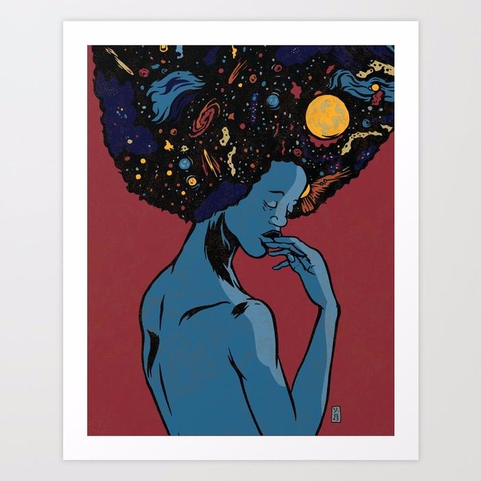 Galaxies, Print - thomcat23 | ello