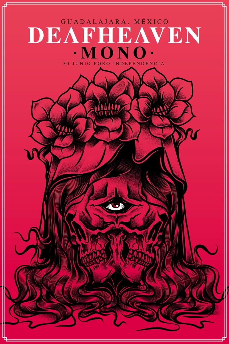 Deafheaven process poster - podridosarmy - manuelcetina | ello