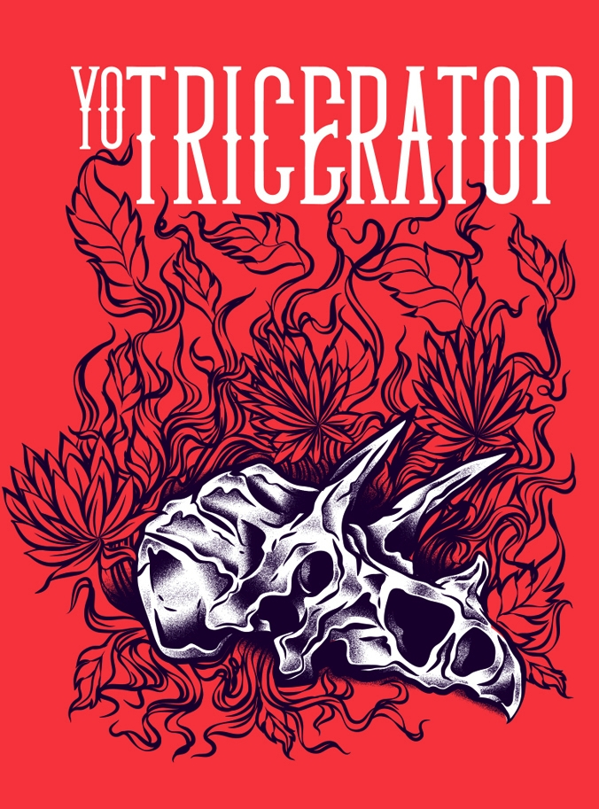 Yo Triceratop! Poster Process - podridosarmy - manuelcetina   ello