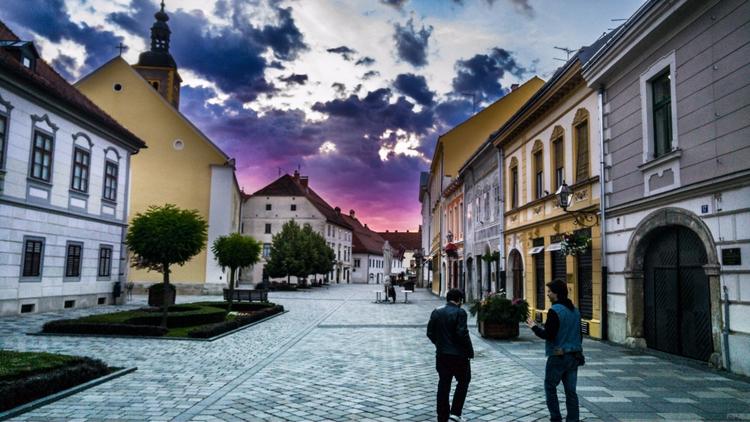 Sunrise city Varaždin --->  - sixledg3r | ello