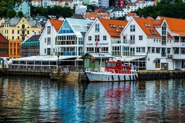 Colours Bergen fishing harbour - paulgriffiths | ello