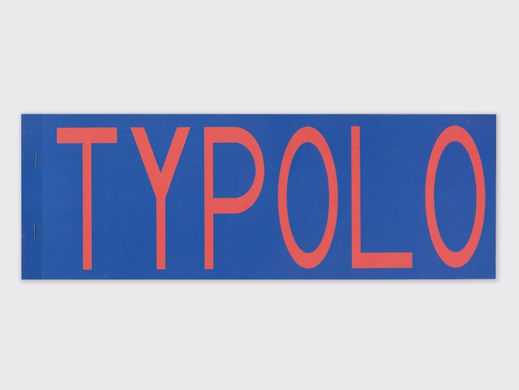 Typolo fanzine - graphicdesign, typography - molonom | ello