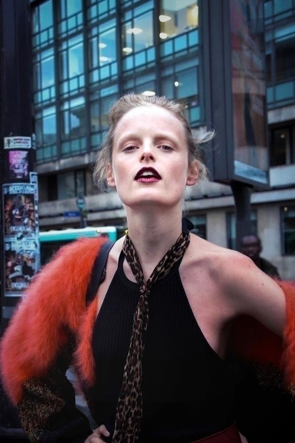Hanne Gaby Odiele / Stella Maxw - fashionsnap | ello