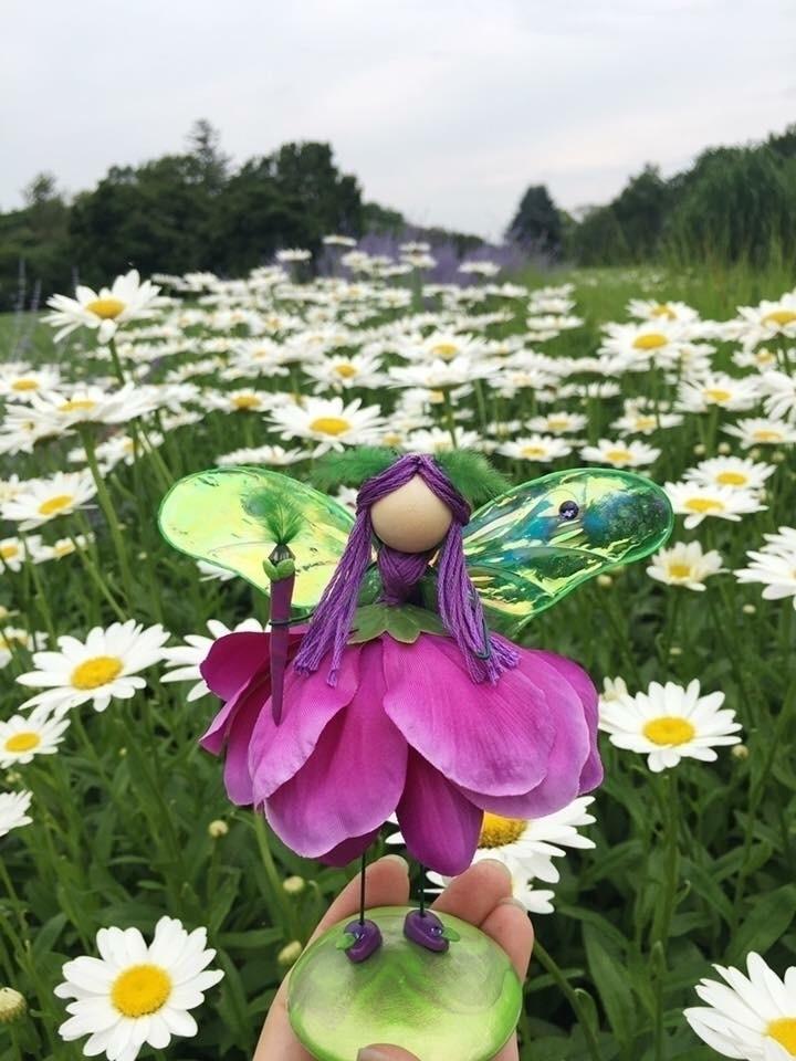 handmade faerie figurines 25% C - faerieblessings | ello
