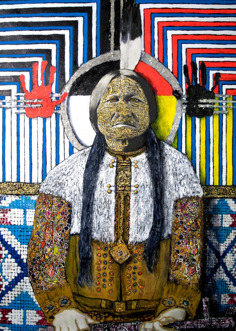 Eternal Sitting Bull. 39h 28w A - arielshallit | ello