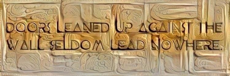 **Part Door Doors. seldom lead  - tinpoet | ello