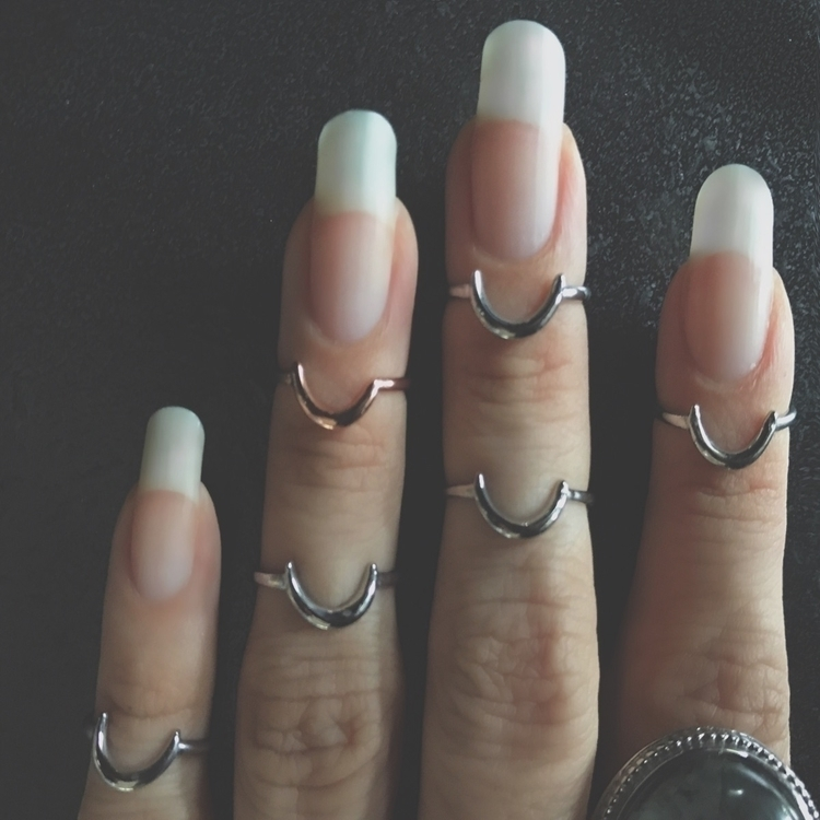 Crescent Midi Rings website spe - evil_pawn_jewelry | ello
