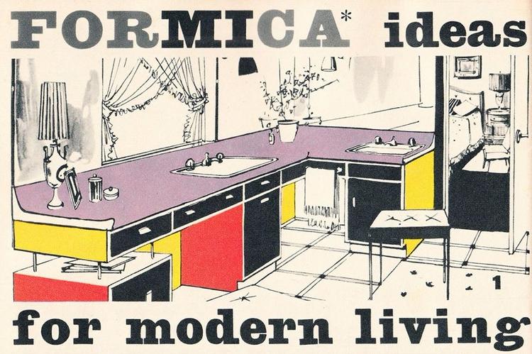 Formica, MidCenturyModern, VintageAd - robogiggles | ello