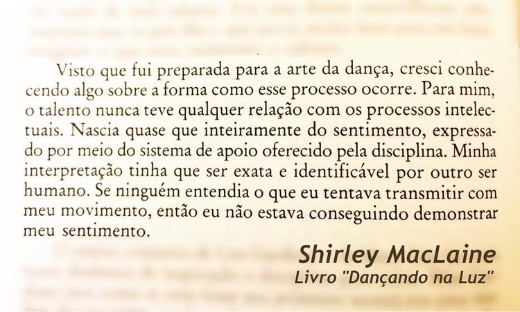 Uma lição de Shirley Maclaine p - alexanderzimmer | ello