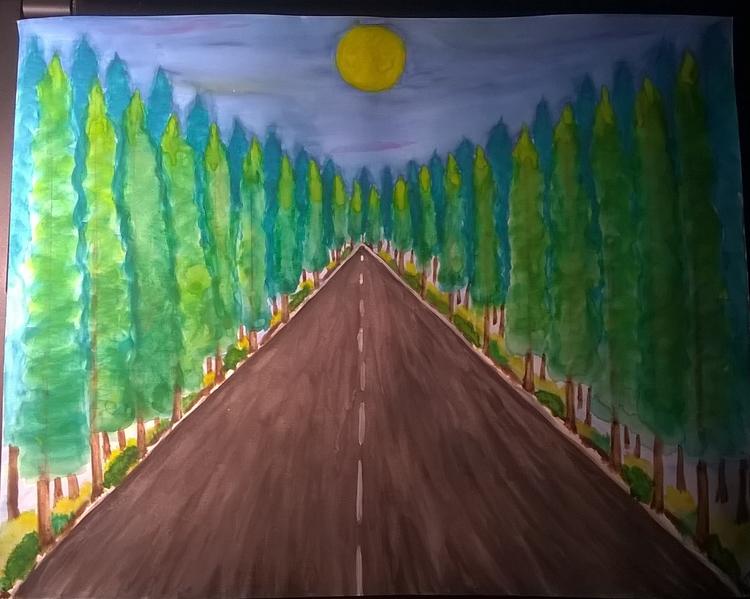 Anticipation Rivera watercolor  - teerivsaid | ello
