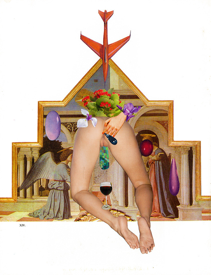 analog, collage, religious - fiorelaquiroz1 | ello