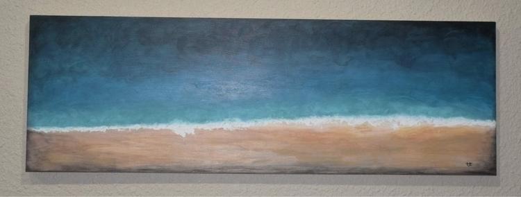 Seashore ink gesso hardwood pan - tracyyost   ello