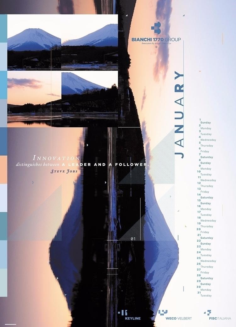 poster sized calendar (70 100 c - kunst | ello