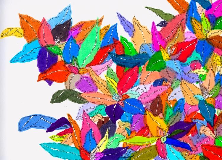 Overlapping - ciao, colores, colorful - nelidazubia | ello