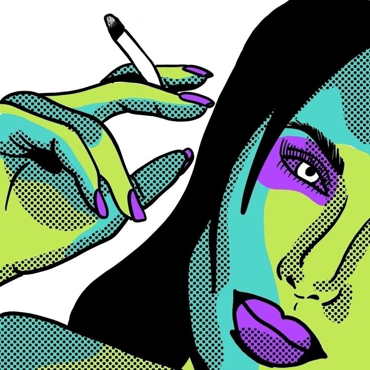 Saturday Smoke - art, design, ello - geelsee | ello