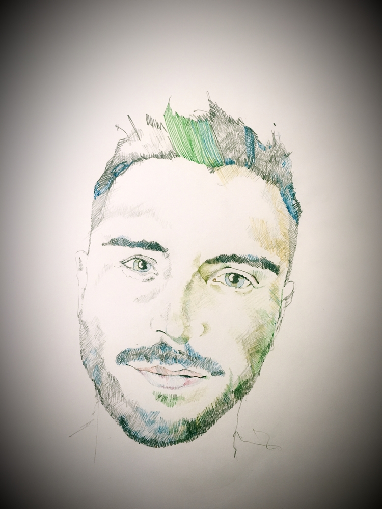 Coloured Pencil Portraits - x0ffender | ello