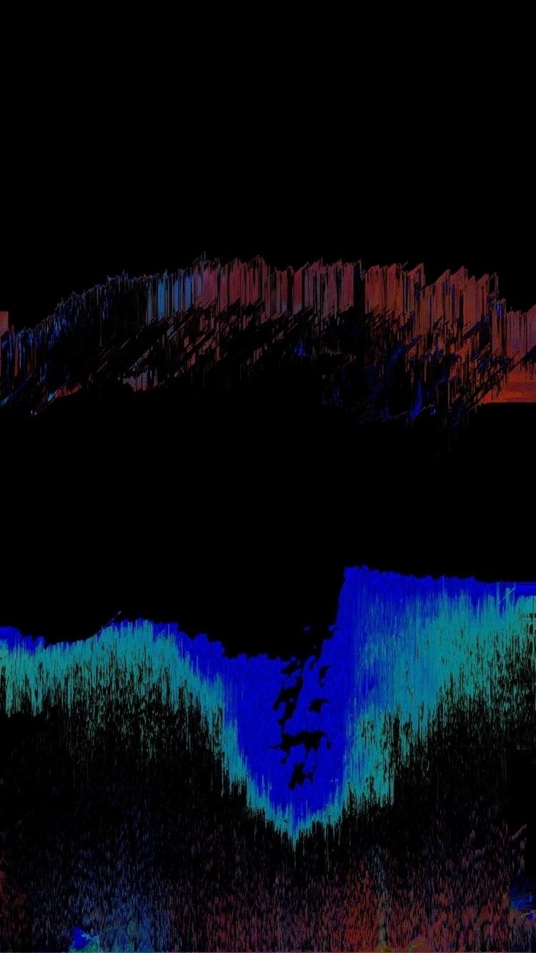 leave place  - abstract, glitch - im_suki | ello