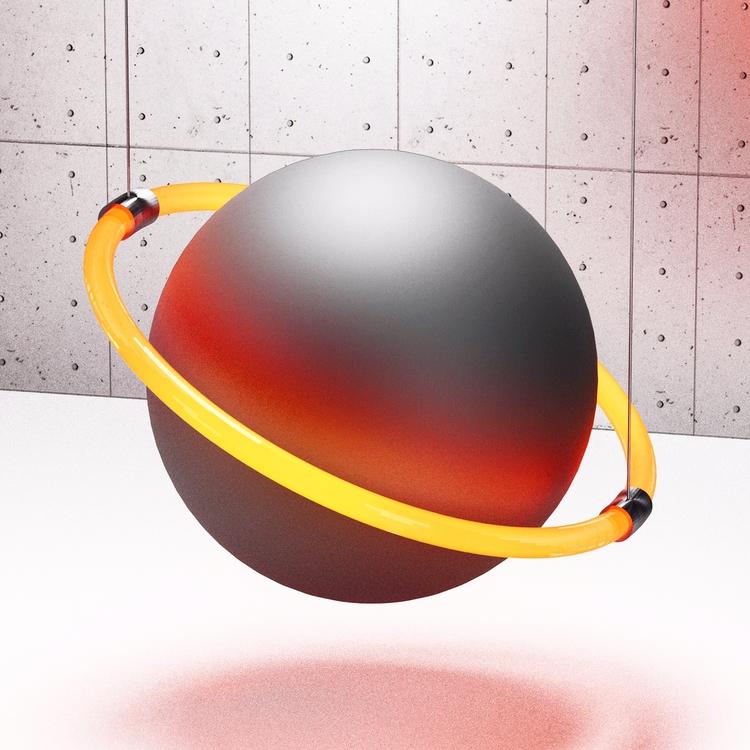 Sphere 74 - Saturn - merlin_aledo | ello