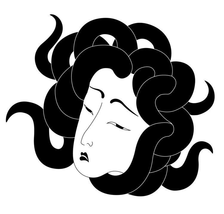 Oriental Gorgon 2016 - illustration - cosdesign | ello