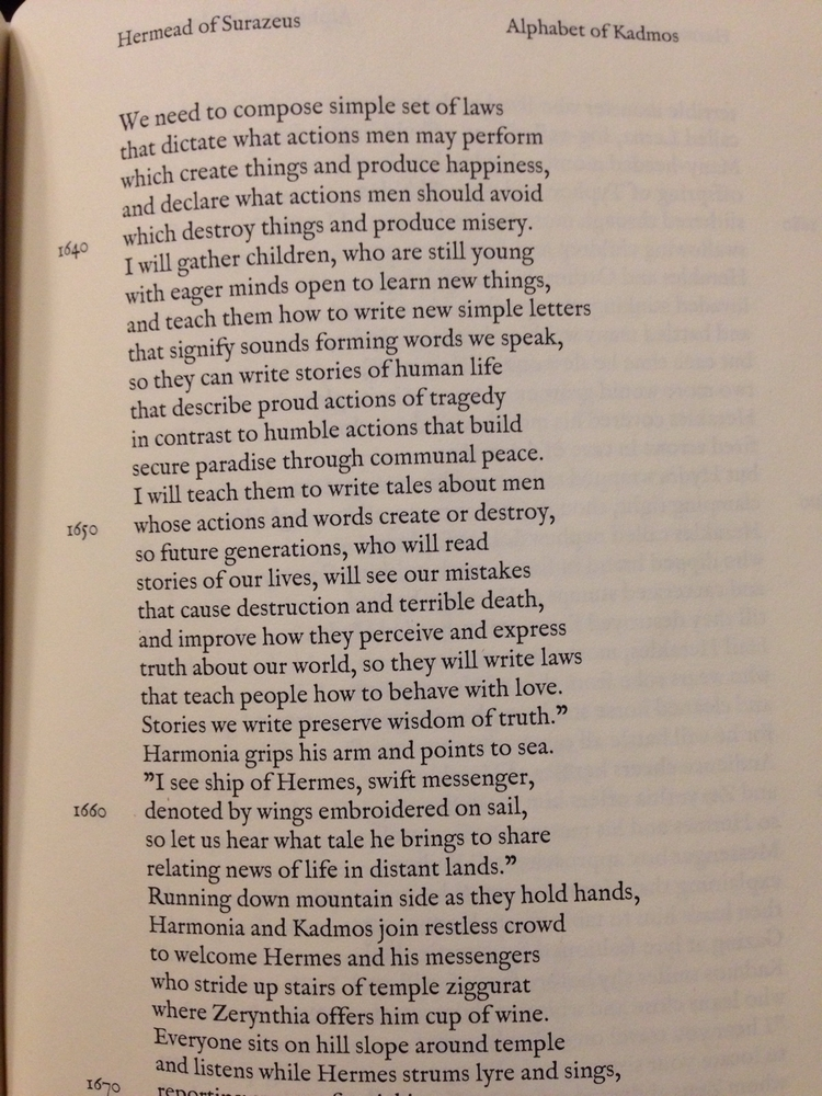 Poetics Cadmus Hermead Epic Phi - surazeus | ello