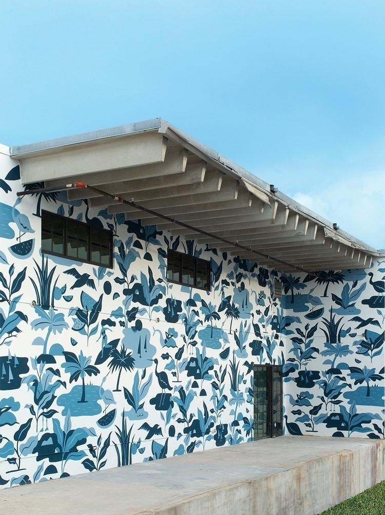 muraldesign, mural, muralart - melissadeckert | ello