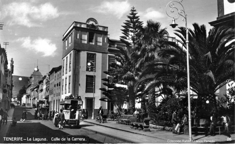 Tenerife . La Laguna , calle Ca - karinkolk | ello
