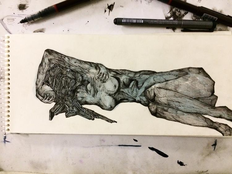 Title: Good night - art, painting - jacobbayneartist   ello