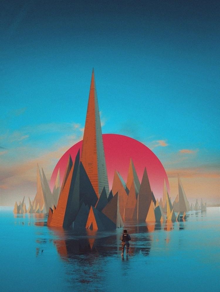 TRI_BUILDINGQUAD SALE Curioos - Cinema4D - polygonatic | ello