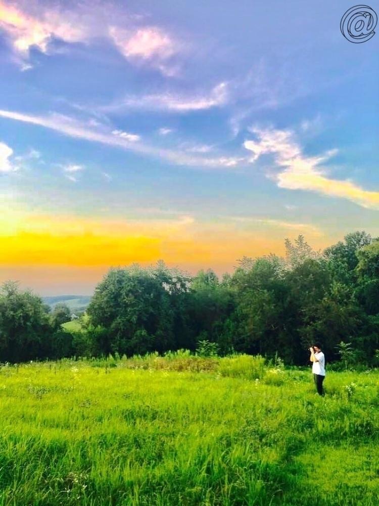 Views:city_sunrise - itslynxy | ello