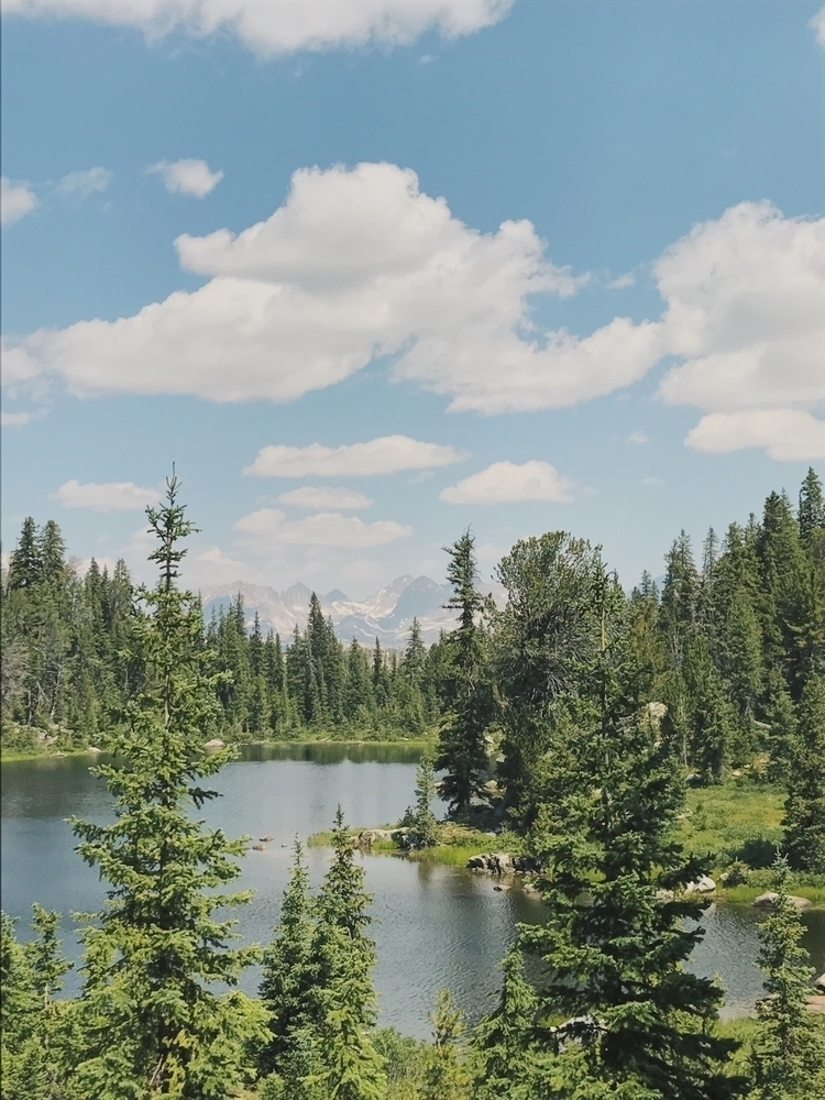 backcountry lakes wyoming - adventure - madelinejean | ello