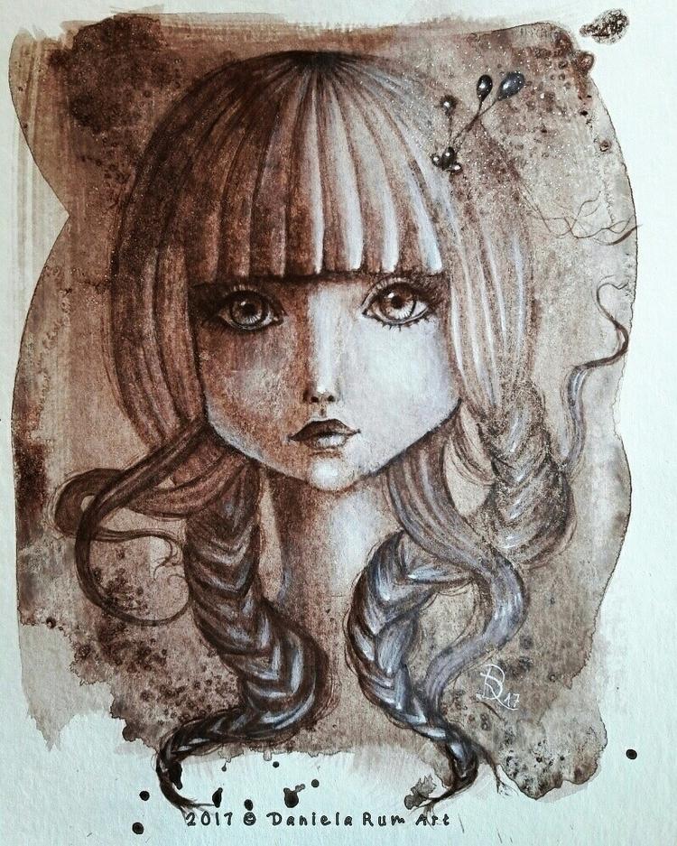 Acrylic painting Fabriano paper - daniela_rum | ello