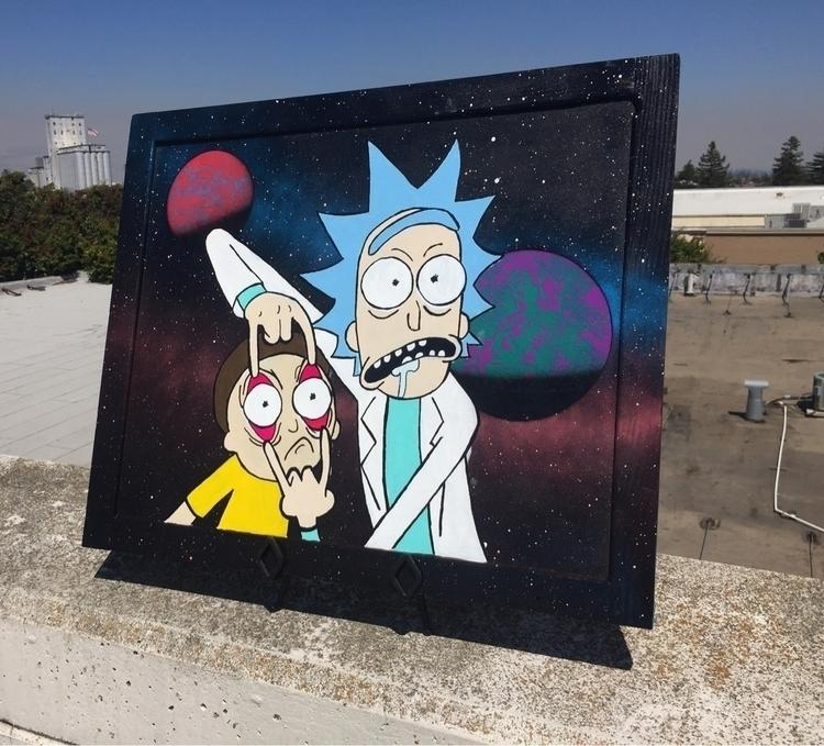 gallery. sold - RickAndMorty - clockworkoctopus | ello