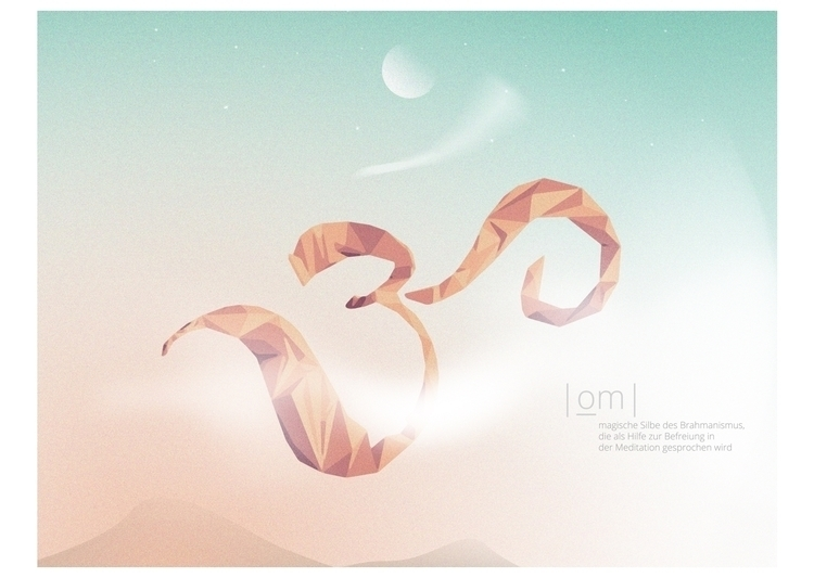 illustration, aum, om, sky - nosofar | ello