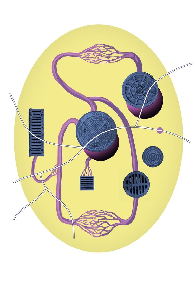 illustration Genius Loci Festiv - victorsoma   ello