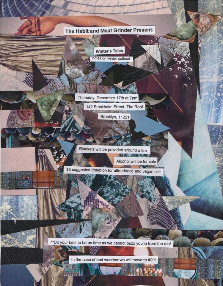 Collage Flier - collage, flier, art - mrschachter | ello