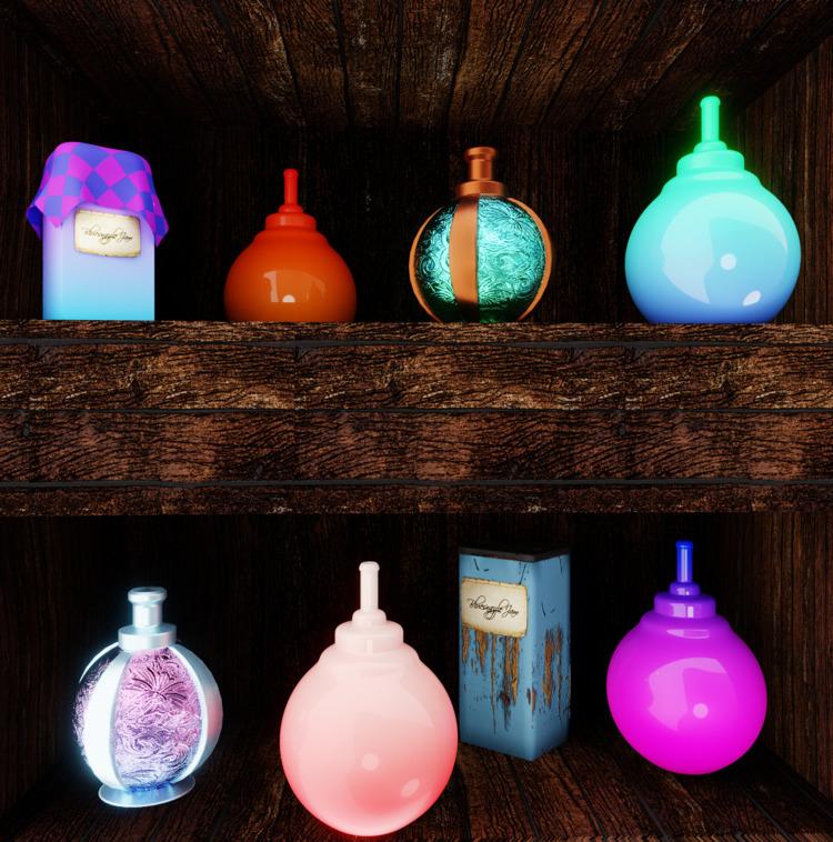 apothecary, art, gameart, perfume - solutuminvictus | ello