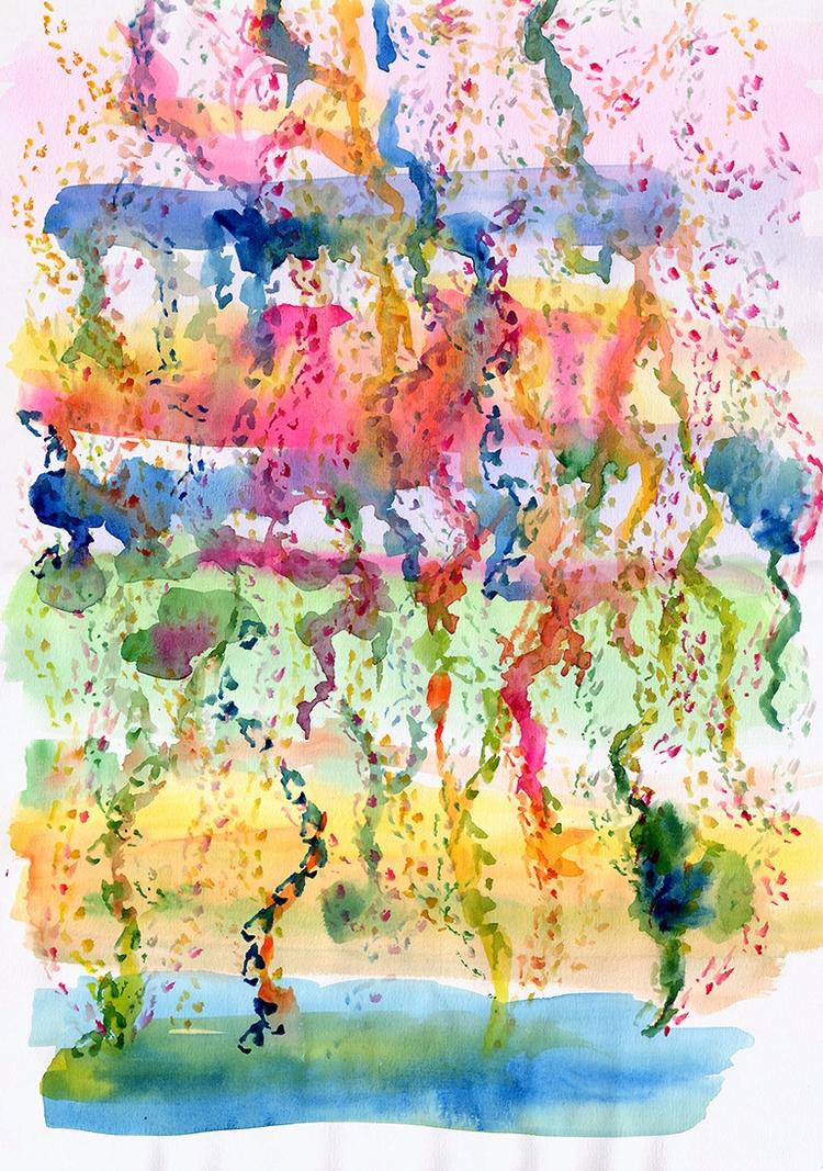 Dripping Pond - abstract, dream - nelidazubia | ello