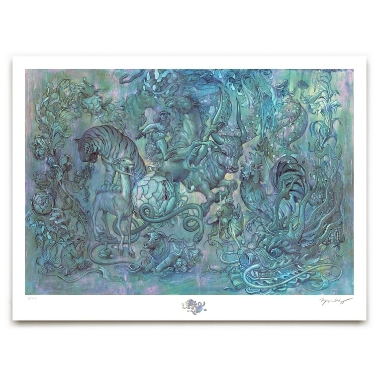 Hunting Party II. 7:59am PDT Au - jamesjean | ello